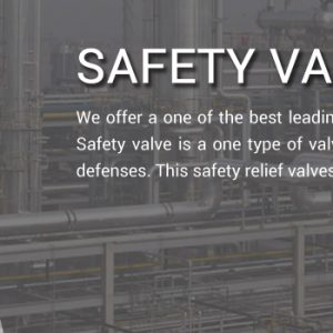 Industrial Safety Valve Exporter