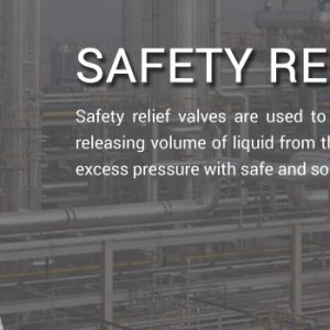 Industrial Safety Valve Supplier